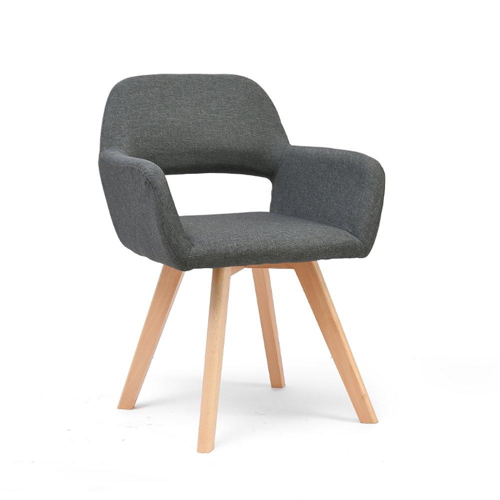 椅子ウッドゲストルームベッドルームレストランシンプルファッション北ヨーロッパダイニングチェア (色 : Gray, サイズ さいず : Set of 2) B07F8CBDH4 Set of 2|Gray Gray Set of 2