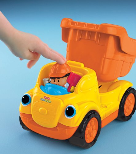 Fisher-Price Little People Rumblin Rocks Dump Truck