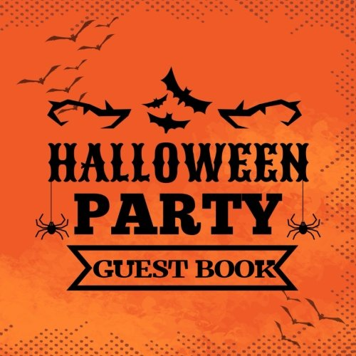 Guest Book Halloween Party: Guest Book Halloween Party V15