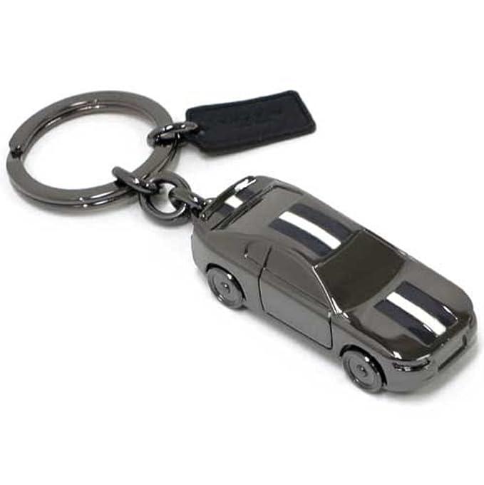 Amazon.com: Coach Llavero coche de carreras f64255blk metal ...