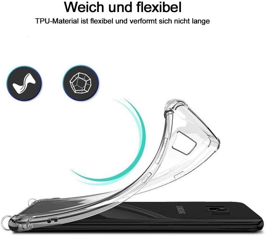 YuhooTech Collier pour Samsung Galaxy A51 Coque Cover Necklace Bandouili/ère Styl/ée /étui de t/él/éphone avec Cordon Housse pour Smartphone Lanyard Case Holder Tour de Cou Lani/ère en Corde