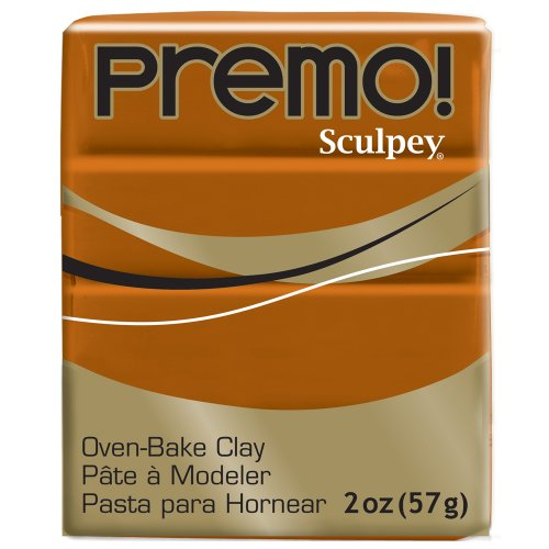 (Premo Sculpey Polymer Clay 2 Ounces-Raw Sienna)