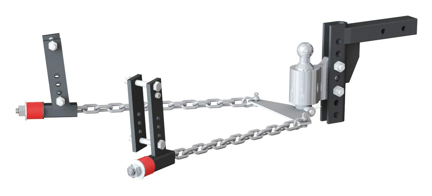 Andersen 3380   Weight Distribution Hitch Kit, 8'' drop/rise, 2-5/16'' ball, 3'', 4'', 5'', 6'' frame by Andersen Hitches