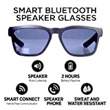 GoVision Kaleo Smart Glasses | Bluetooth Sunglasses | Wearable Technology Headphones - Listen to Music, take Calls and Send Texts