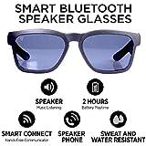 GoVision Kaleo Smart Audio Glasses | Bluetooth Sunglasses | Open Ear Bluetooth Sunglasses to Listen Music and Make Phone Calls