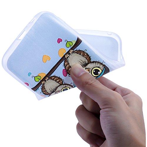 Samsung Galaxy Ragazza Morbida Hut Swing Custodia 2016 Per Tpu Protettiva J5 Ultra Di Coppie Silicone Gufo Antigraffio Bumper Cover Antiurto Case Antiscivolo Cozy Sottile qItHwI