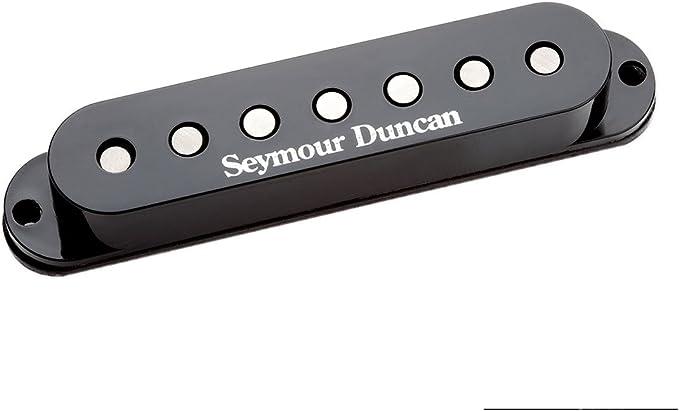 1 FREE SET OF DUNLOP STRINGS Seymour Duncan Custom 5 SH-14 White Humbucker