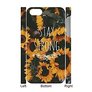Stay Strong Customized 3D Cover Case for Iphone 4,4S,custom phone case ygtg609347