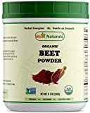 Best Naturals Certified Organic Beet Root Powder 8.5 OZ (240 Gram)