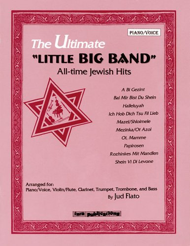 ULTIMATE LITTLE BIG BAND ALL-TIME JEWISH HITS PIANO/VOICE