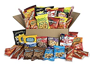 Ultimate Snack Care Package, Variety Assortment of Chips