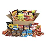 Ultimate Snack Care Package, Bundle of Chips, Cookies, Crackers & More, 40 Count Pack