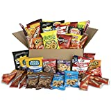 Ultimate Snack Care Package, Variety Assortment of Chips, Cookies, Crackers & More, 40 Count