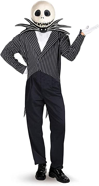 Disfraz 5761 Jack Skellington Deluxe Adult Costume: Amazon.es ...