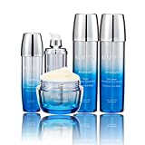 Armiyou K-BEAUTY Skin Care – HYDROGEN Skin Repair Face Moisturizer Toner Lotion Serum Cream Set for Women Men Anti-Wrinkle Anti-Aging Rejuvenation Dry Sensitive KOREAN BEAUTY (4-in-1 Set)