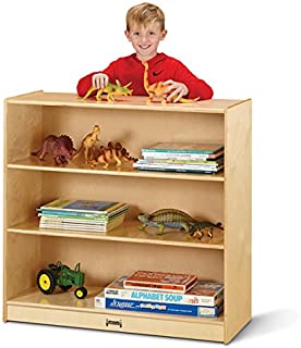 """product image for Jonti-Craft 5232JC Fixed Straight-Shelf Bookcase, 35"""" Height"""