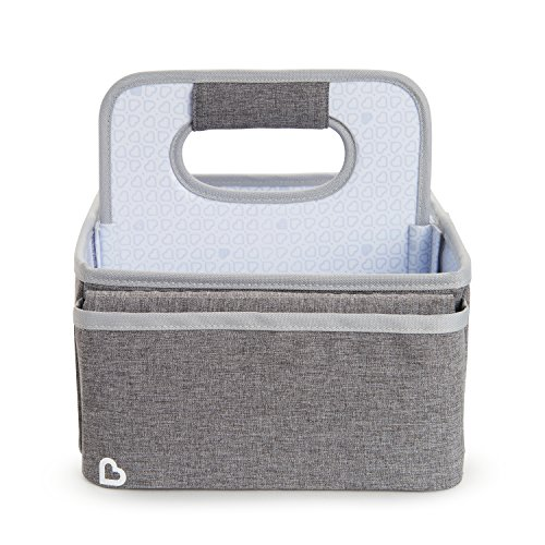 Munchkin Portable Diaper Caddy Organizer, Grey