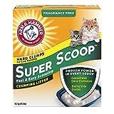 Arm & Hammer Cat Litter Super Scoop Clumping Litter Fragrance Free, 12.7 kg
