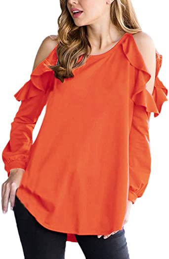 Blusas Mujer Primavera Otoño Manga Larga Camisas Elegantes ...