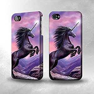 Faddish Phone Fantasy Unicorn Art Diy For HTC One M7 Case Cover Perfect