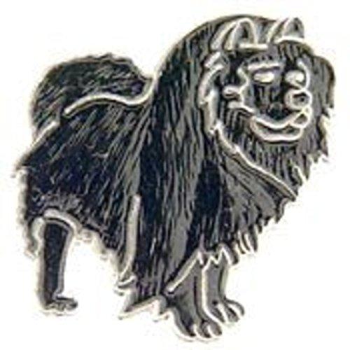 EagleEmblems P00328 Pin-Dog,Chow,Black (1'')