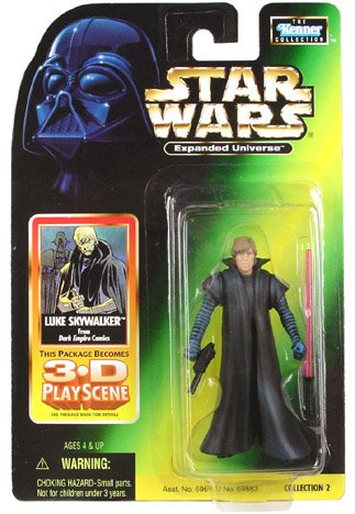 Expanded Universe Luke Skywalker - Star Wars Figure Expanded Universe Luke Skywalker from Dark Empire Comics