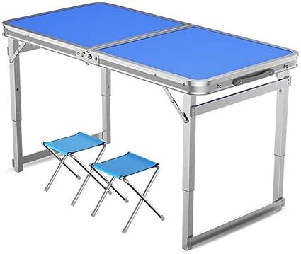 Mesa Taburetes Plegable Cámping Mesa Ultralight Aluminio ...