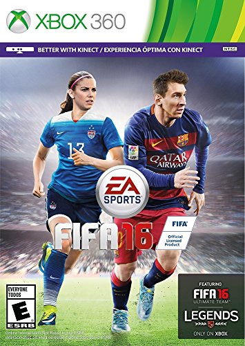 Xbox 360 Box Art (FIFA 16 - Standard Edition - Xbox 360)