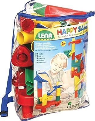 Importado de Alemania Accesorios para jugar con la arena 24 unidades Lena 71100421