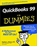 QuickBooks 99 for Dummies, Stephen L. Nelson, 0764505211