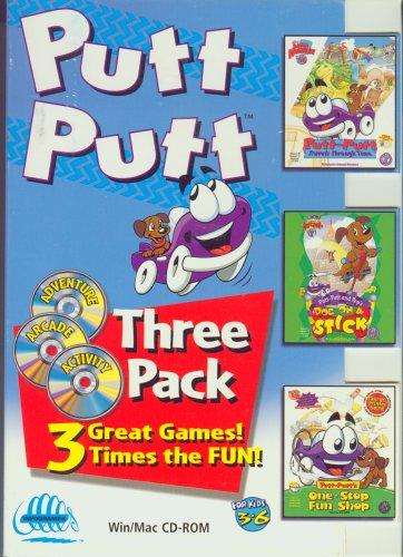 Amazon.com: HUMONGOUS Putt Putt Three Pack (Windows/Macintosh): Video Games