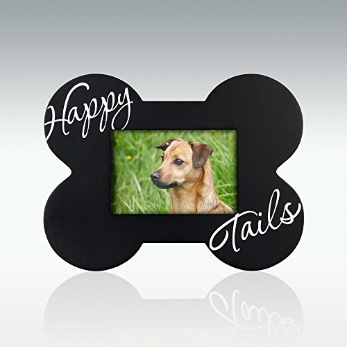 - Malden International Designs Black Wood Happy Tails Picture Frame, 3.5x5, Black
