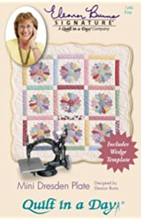 Suzn Quilts Patterns Suzn Quilts Template Mini Dresden