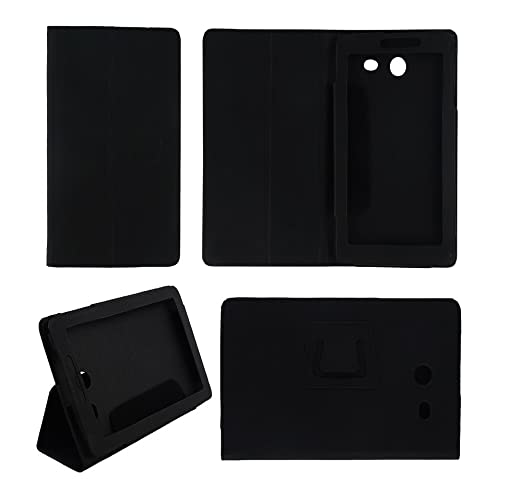 Colorcase Tablet Flip Cover Case for Micromax Canvas Tab P701 Cases   Covers