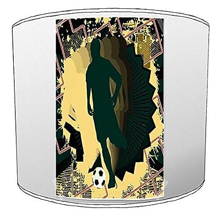 Premier Lampshades - Juego de fútbol de Mesa lámpara 14, 30,5 cm: Amazon.es: Hogar