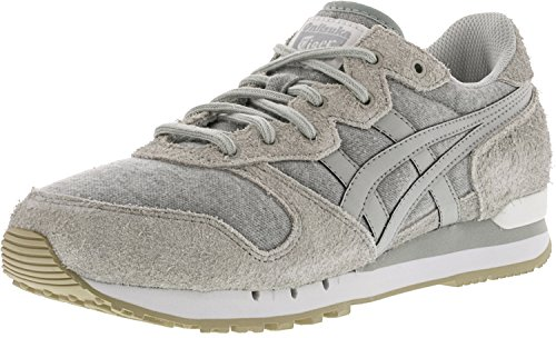 Onitsuka Tiger by Asics Unisex Alvarado Glacier Grey/Glacier Grey Athletic Shoe