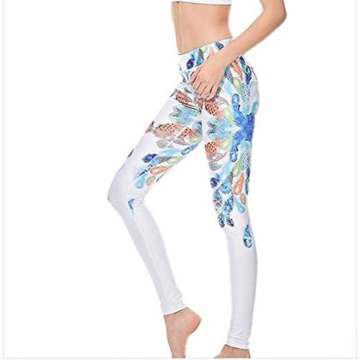 Mujeres Yoga Legging, Cuerpo elástico Formando Tobillo ...