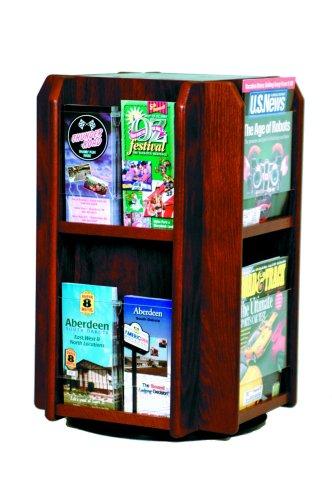 Luggage Pros 8 Magazine 16 Brochure Rotary Counter Display ()