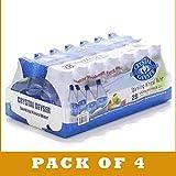 Crystal Geyser Sparkling Mineral Water, Assorted Flavors - 112 pack, 18 fl oz bottles