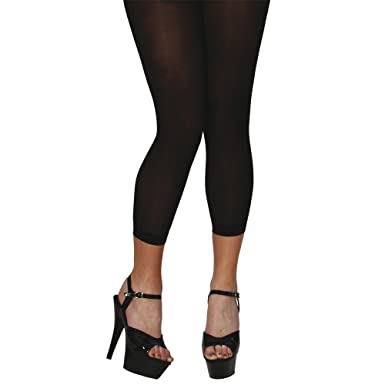 6206f660cbca3 40d Footless Tights - Black One Size Fits Most: Amazon.co.uk: Clothing