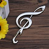 1 Pack Music Note Shape Bottle Opener Keychains Pocket Key Ring Chains Wrist Holder Strap Perfect Popular Beer Openers Wall Mounted Corkscrew Vintage Utility Travel Accessories