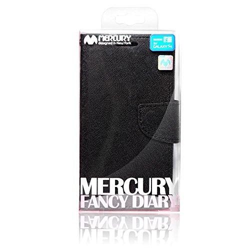 Fancy Diary Case Mercury - APPLE IPHONE 5 / SONY ERRICSON black-brown