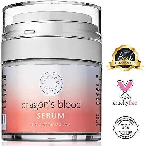 Dragons Blood Serum - Sculpting Gel, Face Tightening and Lifting Cream to Repair, Soothe, Regenerate and Protect. 1oz. Made in the USA