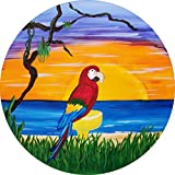 Best Custom Accessories Tire Covers - Parrot Margarita Beach Spare Tire Cover for Jeep Review