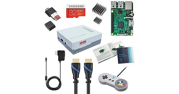 Amazon.com: Vilros Raspberry Pi 3 retropie Arcada Gaming Kit ...
