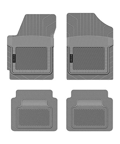 Custom Fit Car Mat 4PC PantsSaver Gray 0214152