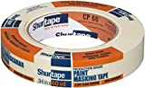 Shurtape CP 066 Industrial/Professional Grade Crepe Paper Masking Tape, 55m Length x 24mm Width, Natural
