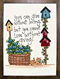 Love Without Giving Framed Print 39.85''x29.48'' by Debbie McMaster