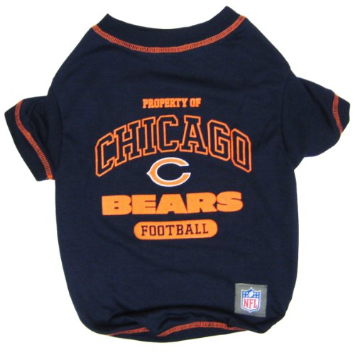 Pets First NFL Chicago Bears T-Shirt, X-Small Review