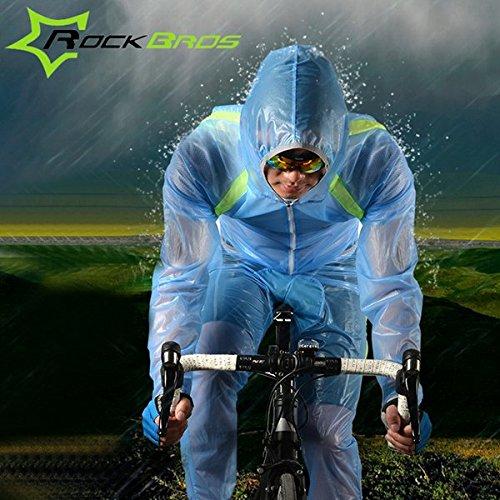 Bazaar Rockbros circonscription unisexe costume imperméable skinsuit ultra-mince costume imperméable respirant portable